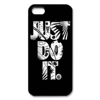 Just Do It Case for Iphone 5 Petercustomshop-IPhone 5-PC00286