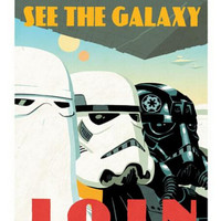 Star Wars Join Retro Classic Vintage Movie Poster 20x30