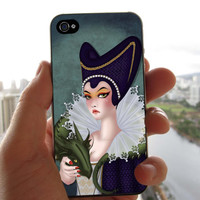 Queen With Dragon Cover for iPhone 4/4S iPhone 5/5S/5C Samsung Galaxy S3 Samsung Galaxy S4