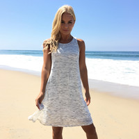 Speckled Knit Shift Dress