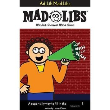 Mad Libs- Ad Lib Mad Libs