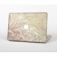 The Tan Vintage Subtle Laced Texture Skin Set for the Apple MacBook Pro 13""