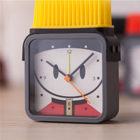 Creative Cartoons Clock Children Bedroom Lovely Electronic Gifts Brush [6044638913]