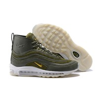 Best Online Sale Riccardo Tisci x Nike Air Max 97 Mid Army Green Sport Running Shoes