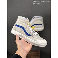 Vans Vault OG Sk8-Hi cheap mens and womens Fashion Canvas Flats Sneakers Sport Shoes