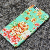 Vintage Flowers iPhone XR Case | iPhone XS Max plus Case | iPhone 5 Case | Galaxy Case 3D 019