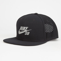 Nike Sb Performance Mens Trucker Hat Black One Size For Men 27025810001