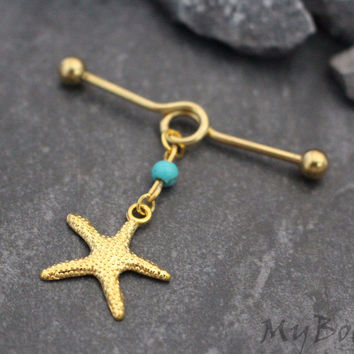 Starfish Industrial Jewelry