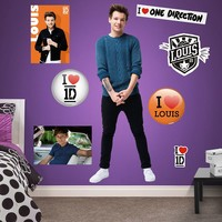 One Direction Louis Tomlinson 1D Wall Decals by Fathead