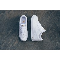 AA KUYOU Nike Air Force 1 '07 - White/Metallic Gold