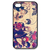 uta no prince sama Snap-on Hard Case Cover Skin compatible with Apple iPhone 4 4S 4G