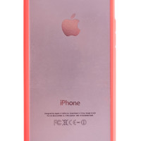Pink Ultra Slim Hybrid Case for iPhone 5 & 5S