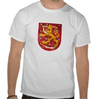 Coat of Arms of Finland T Shirt