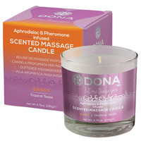 Dona Scented Massage Candle Sassy - 4.75 Oz Tropical Tease