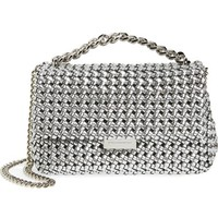 Stella McCartney Small Woven Faux Leather Shoulder Bag | Nordstrom