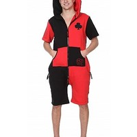 Uni ZOOOPY Fleece Black and Red Clover : ZOOOP iT UP