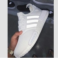 """ADIDAS"" New Fashion Casual Sports Running Couple Shoes White"