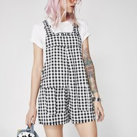 Play It Cool Short Overalls