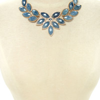 Faux Stone Statement Necklace   Forever 21 - 1000178380