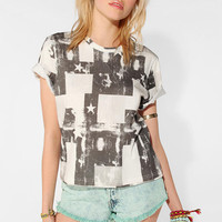 Urban Outfitters - Hi! Expectations Flag Tee