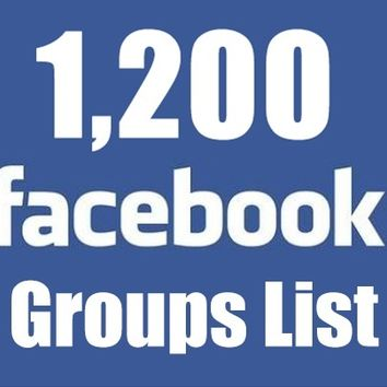 Give you 1200+ Facebook money making, marketing, product advertising Groups List