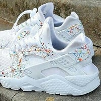 MEN Sizes. Custom Nike Huaraches. (Your design here)