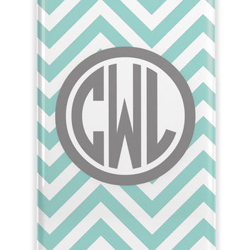 THIN CHEVRON PATTERN - PERSONALIZED PREPPY IPHONE CASE