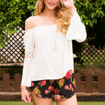 Leighton Off The Shoulder Top