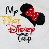 """Disney Vacation """"My First Disney Trip"""" Onesuit or Tshirt"""
