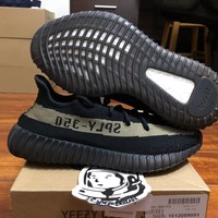 Come With Box Adidas yeezy boost 350 V2 Green BY9611 size 7.5 DS 100% authentic