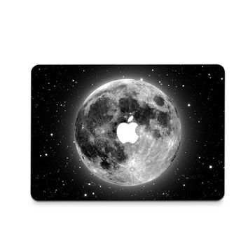 Earth Galaxy Black Decal Skin Set for the Apple MacBook Air Pro