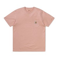 Pocket T-Shirt in Powdery