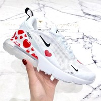 NIKE AIR MAX 270 2019 new women's love print mesh breathable sneakers