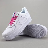 Nike Air Force 1 Upstep Women Men Fashion Casual Old Skool Low-Top Shoes