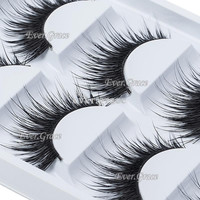 Fashion Long Thick Natural 5 Pairs Makeup False Eyelashes Eye Extension Eye Lash