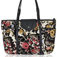 Floral Tapestry Tote - Multi