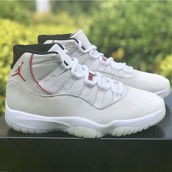 Air Jordan 11 Platinum Tint sneakers basketball shoes