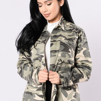 On A Mission Jacket - Camo