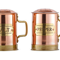 Copper Salt & Pepper Shaker Set, Salt & Pepper, Accessories