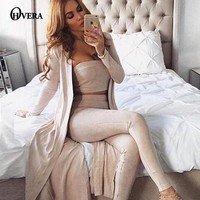 OHVERA New Long Sleeve Suede Leather Plaid Trench Coat 2017 Autumn Women Street Satin Duster Long Windbreakers Femme