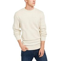 AX Armani Exchange Mens Checked Logo Sweater,Various Sizes, Colors