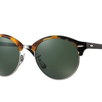 Ray Ban Clubround Green Sunglasses RB4246 1157 51