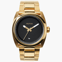 Nixon The Kingpin Watch Gold/Black One Size For Men 25570577401