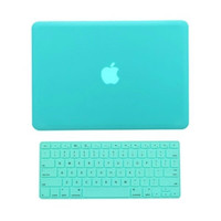 """TopCase 2 in 1 Rubberized Hot Blue Hard Case Cover and Keyboard Cover for Macbook Pro 13-inch 13"""" (A1278/with or without Thunderbolt)"""