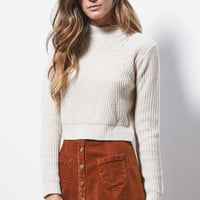 Kendall and Kylie Cropped Fitted Pullover Sweater at PacSun.com