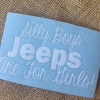 Silly Boys trucks Car Decal Monogram Decal Monogram Vinyl Decal Monogram Gift Monogram sticker Car Initials Vinyl Initials Vinyl Lettering