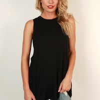 The Good Life Tank in Black