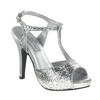 Shop prom shoes   Silver Prom Shoes   Prom dresses   Plus size prom dresses   Zoey by Touch Ups TU459   GownGarden.com