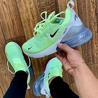 Nike Air Max 270 3rd Generation Nike 270 3rd Generation Shoes Half Palm Air Cushion Mesh Surface Breathable Men's and Women's Casual Sneakers 2