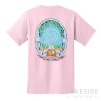 Sip Sweetly Tee in Pink   Lakeside Cotton